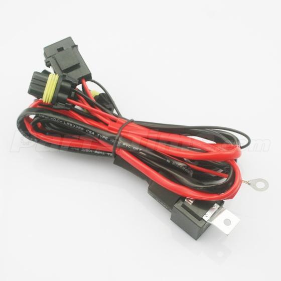 universal headlight xenon hid relay wire harness 9005 9006 universal headlight xenon hid relay wire harness conevrsion kit 35 55w