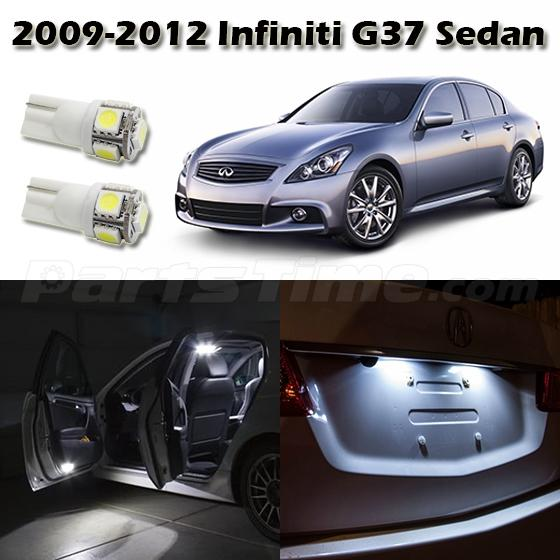 2007 Infiniti M Interior: 9pcs LED Interior Package Bulbs For 2007-08 Infiniti G35