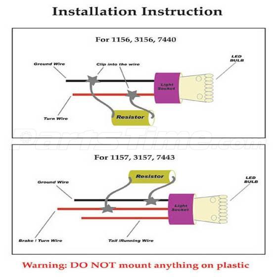 x ohm w led load resistor fix turn signal fog driving light 5 roof running light cab marker smoke cover amber led bulb for ford f 250 e 350