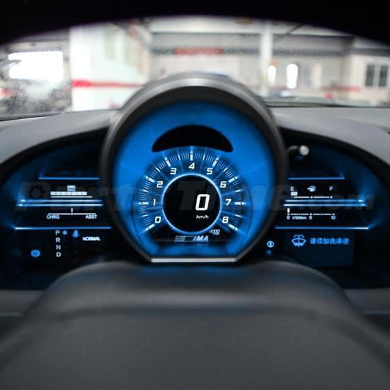 60x T5 74 Led Dashboard Speedometer Gauge Indicator Light: 10) T5 PC74 Twist Socket Instrument Cluster Ice Blue
