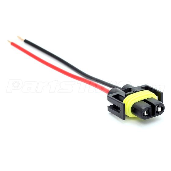 880 881 h11 female plug wiring harness sockets wire for headlights 880 881 h11 female plug wiring harness sockets wire for headlights or fog lights