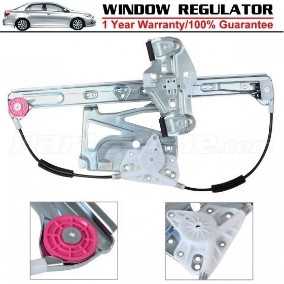 Front driver side window regulator without motor for for 2000 cadillac deville window regulator