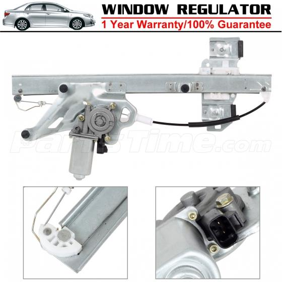 Front driver side lh window regulator w motor for buick for 2000 buick lesabre window regulator replacement