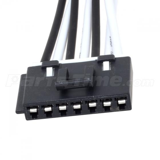 Blower motor resistor 7 wire plug connector 15862656 for for Blower motor resistor wire harness connector